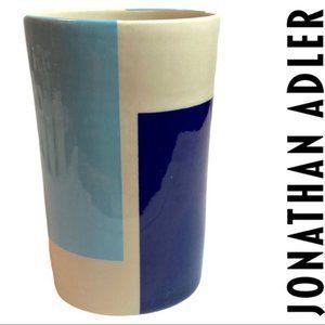 VTG Jonathan Adler Pot a Porter Vase Blue